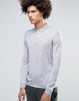 Minimum Jaylen Merino Ls Knit Polo