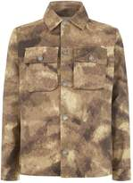 Blood Brother Camouflage Over Shirt