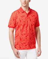 Club Room Men's Leaf Print Polo, Only at Macy's