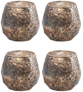 Shiraleah Holiday Sphere Votive Holders (Set of 4)