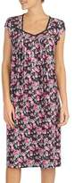 Eileen West Floral-Print Nightgown
