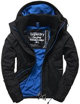 Superdry Men's Pop Zip Hooded Arctic Windchea Jacket