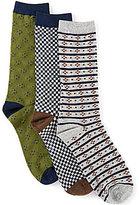Class Club Boys 3-Pack Dress Crew Socks