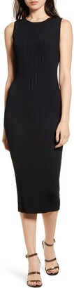 Chelsea28 Ribbed Sleeveless Sweater Dress