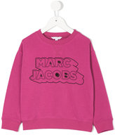 Little Marc Jacobs logo patch sweatshirt