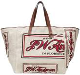 J.W.Anderson oversized logo shopper tote