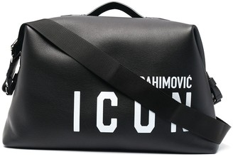 DSQUARED2 x Ibrahimovic Icon duffle bag