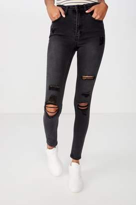 Supre Long Skinny Premium Ripped Jean