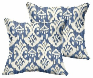 """Winston Porter Asmus Outdoor Square Pillow Cover and Insert Size: 22""""x22"""""""