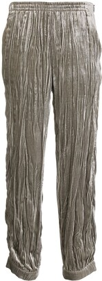 Emporio Armani Pleated Tapered Trousers