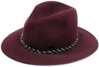Maison Michel Braided-Detail Fedora Hat