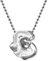 Alex Woo Little Collegiate by Cornell Pendant Necklace in Sterling Silver