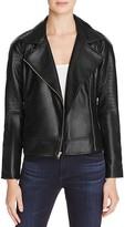 BB Dakota Drake Faux Leather Moto Jacket - 100% Bloomingdale's Exclusive