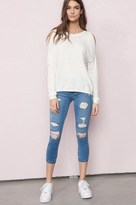 Garage High Waist Super Soft Crop Jegging