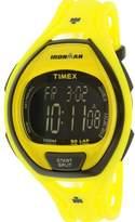 Timex Men's Ironman TW5M01800 Yellow Silicone Quartz Sport Watch