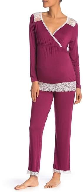 7afa0480d3f7c Pregnancy Pajamas - ShopStyle