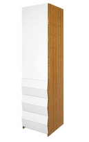 Pin It Brave Space Design Planar Wardrobe - Push Touch Hardware