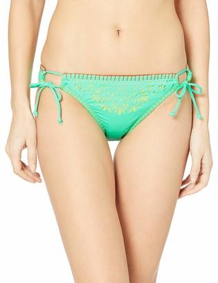Hobie Junior's Side Tie Hipster Bikini Swimsuit Bottom