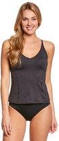 Nike Women's Iconic Heather VBack Tankini Top - 8151545
