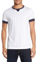 French Connection Men's 'Skyray' Pinstripe Ringer T-Shirt