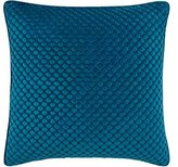 "Sheridan Emington"" Cushion, Petrol, 45 x 45 cm"