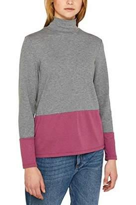 Esprit edc by Women's 119CC1K014 Longsleeve T-Shirt,M