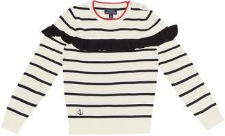Polo Ralph Lauren Kids Striped wool sweater