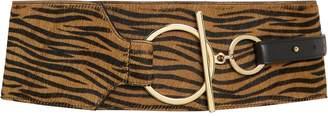 MAISON BOINET Zebra Corset Waist Belt