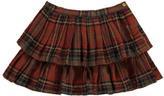 Bonton Météo Ecossais Ruffled Skirt