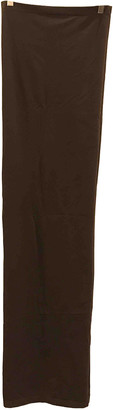 Wolford Brown Synthetic Dresses