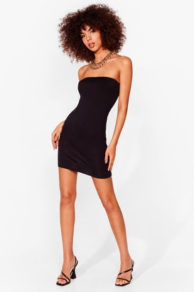 Nasty Gal Womens Be Tight There Bodycon Mini Dress - Black