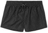 Dolce & Gabbana Mid-length Polka-dot Swim Shorts