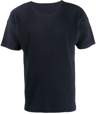 Homme Plissé Issey Miyake ribbed T-shirt