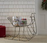 Pottery Barn Lit Wire Sleigh