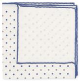 Brunello Cucinelli Dotted Print Pocket Square