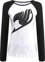 ERTGFDS Women Fairy Tail Logo T-shirt