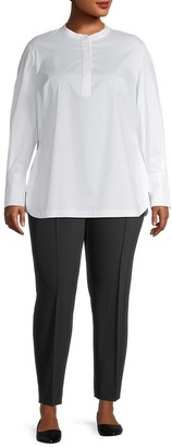 Lafayette 148 New York, Plus Size Axler Tunic Shirt