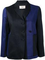 Ports 1961 cropped tonal blazer - women - Wool/Viscose/Silk - 36