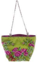 Valentino Embellished Satin Mini Bag