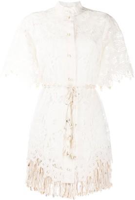 Zimmermann Wavelength shirt dress