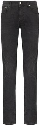 Alexander McQueen Mid-Rise Slim-Fit Jeans