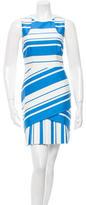 Karen Millen Striped Mini Dress w/ Tags