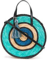 Rebecca Minkoff colour block woven tote bag