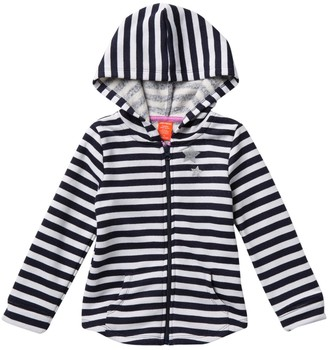 Joe Fresh Striped Star Hoodie (Little Girls)
