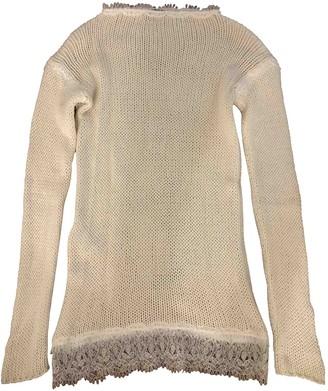 Ermanno Scervino White Cashmere Knitwear for Women