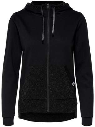Only Play Zip-Up Hoodie with Sequined Pocket