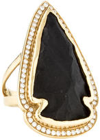Pamela Love Diamond Arrowhead Ring