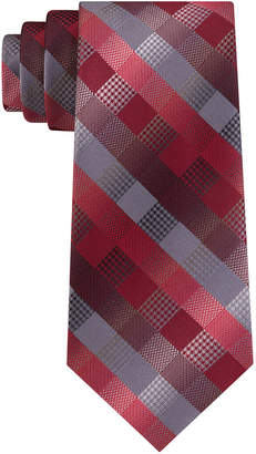 Van Heusen Men Bruck Plaid Tie