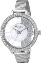 Kenneth Cole New York Kenneth Cole Women's KC0007 Stainless-Steel Quartz Watch