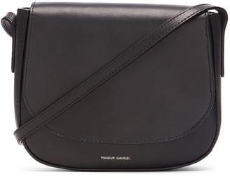 Mansur Gavriel Mini Crossbody Bag in Black | FWRD